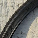 Fahrrad Reifen, 26 x 1  1/4 (32-597), schwarz, rare alte Neuware