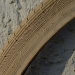 Fahrrad Reifen, 26 x  1 3/8 (37-590), creme, orig. Vredestein, rare alte Neuware !