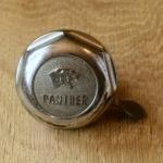 """Fahrrad/Moped Klingel Deckel """"PANTHER"""", orig. 60er Jahre, verchromt, ggf. Gebrauchsspuren, siehe Bilder"""