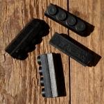 Bremsklötze für Rennradklassiker / Sportrad,  MAFAC RACER, orig. Satz 4 Stück, schwarz, ca. 40 x 11 mm