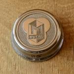 """Fahrrad/Moped Klingel Deckel """"MUFAG"""", orig. 50er Jahre, verchromt, ohne Unterteil, ggf. Gebrauchsspuren, siehe Bilder"""
