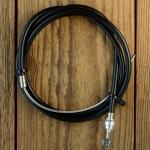 Bremszug für klassische Felgenbremsen, schwarz, universell passend für alle Typen ! Länge Außenhülle 75 cm