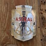 Steuerkopfschild  ASTRAL, Nürnberg, 30-50er Jahre, Originalschild aus Sammlungsbestand
