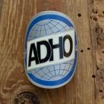 Steuerkopfschild  ADHO, 30-50er Jahre, Originalschild aus Sammlungsbestand
