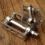 """Pedale """"MKS RATTRAP """", Luxusausführung Aluminium, breite Ausführung, passend f. 50/70er Jahre Räder"""
