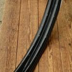 """Felgen Satz Draht 28"""" x 1 1/2 (635),  Stahl schwarz, 36/36 Loch, ca. 38mm breit, verstärkte Ausf., Nippelbohrung 4,5mm"""