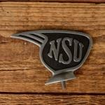 Schutzblechfigur NSU, Zustand s. Bild