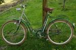 """Damenfahrrad """"DIAMANT"""", 50/60er Jahre, grün, 26 Zoll, schöner Originalzustand, Sammlerzustand"""