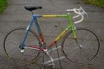 """Rennrad """"ROSSIN"""" Modell: Record Professional,  Italien 80er Jahre, Campagnolo Ausstattung, RH: 63 cm, neuwertig erhalten"""