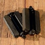 Pedale , schwere Ausführung,  schwarz, gebraucht, ideal für Lastenrad, Uralt Motorrad etc.