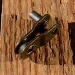 Kettenglied / halbes Glied, 1/2 x 3 /32 für Rennkette oder Fixie etc., orig. aus altem Bestand.