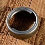 Tankstutzen zum einlöten/einschweißen, passend für Bajonettdeckel CAWI, ArtNr. 04738 , 40 mm
