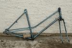 FahrradrahmenTERROT  m. Gabel und Tretlager, Damenausf., 26 Zoll,  RH=52 cm, 50er J.