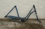 Fahrradrahmen BISMARCK,  Damenausf., 28 Zoll,  RH=53cm, RN:1302XXX, 50er J.