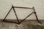 Fahrradrahmen DÜRKOPP ,  Herrenausf., 28 Zoll,  RH=56cm, orig. 50er J.