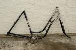 Fahrradrahmen NORDSEE ,  Damenausf., 28 Zoll,  RH=55cm, orig. 50er J.