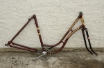 Fahrradrahmen HERCULES ,  Damenausf., 28 Zoll,  RH=54cm, orig. 50er J.