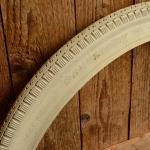 Fahrrad Reifen, 24 x 1.75 x 2 (47-507), PNEUMANT, orig. DDR Altbestand, cremefarben