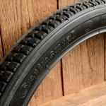 "Moped Reifen 20 x 2,00 (2  - 16),  ""Continental"", altes Profil, schwarz"