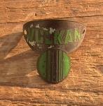 "Steuerkopfschild  ""WANDERER Vulkan"", 20/30er Jahre,  Originalschild (Messing geätzt) aus Sammlungsauflösung!"