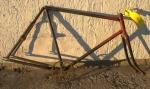 Fahrradrahmen HAEHNEL Suhl,   Herrenausf., 28 Zoll,  RH=55cm, orig. 20er J.