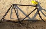 Fahrradrahmen TITUS (Suhl, Berlin) ,  Herrenausf., 28 Zoll,  RH=55cm, orig. 20er J.