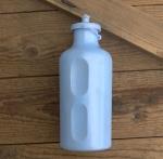 Trinkflasche, REG Atox, orig. 70/80er Jahre, hellblau, ohne Aufdruck,  Kunststoff, orig. Altbestand, NOS