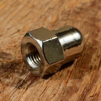 Hutmutter FG 7.9mm, verchromt, für Vorderachse, Länge 22mm