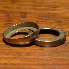 Staubdeckel / Staubkappe, vernickelt / verchromt, D=24mm aussen, innen ca. 15.5mm