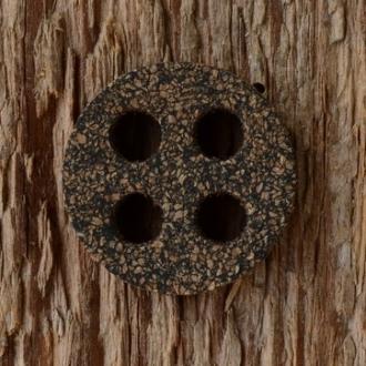 Korkdichtung 21.5 x 4 mm, 4-Loch, passend für viele Karcoma/Karco Hähne