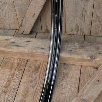 Felge Fahrrad/Moped Stahl 26 x 2,00 (559), schwarz Dek.2, 36Loch, 39,5mm breit