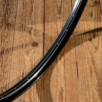 """Fahrradfelge 28"""" x 1,75 (ISO/ETRTO 622mm), schwarz, 36 Loch, Dek. 6 weiss weiss innen"""