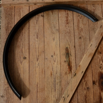 """Schutzblech 26"""" für Motorfahrräder, Mopeds, Cruiser etc. , schwarz, Breite=80mm, Bogenmaß=ca.120cm"""