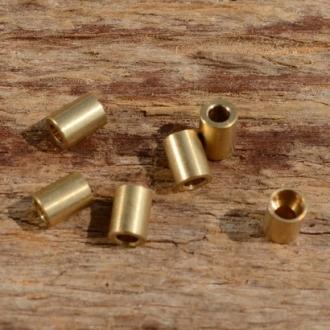 Lötnippel, D=3.0/1.6mm, L=4.0mm, Messing FIX Bez. 13A