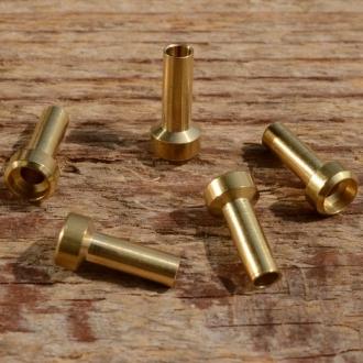 Lötnippel, D=6.0/3.5/2.8mm, L=13.0mm, Messing, FIX Bez. 20A