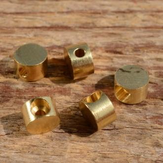 Lötnippel, D=6.5/2.1mm, L=4.0mm, Messing FIX Bez. 8A