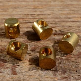 Lötnippel, D=8.0/3.2mm, L=8.0mm, Messing, FIX Bez. 19