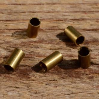 Lötnippel, D=3.5/2.7mm, L=6.0mm, Messing, FIX Bez. 14