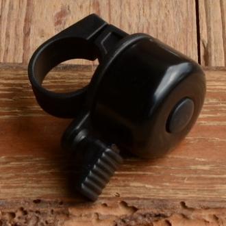 "Glocke ""PING"", schwarz, 35mm"