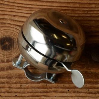Ding-Dong Glocke, verchromt, 60mm, hochwertig gearbeitet, passend für alle Klassiker