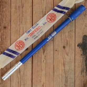 """Luftpumpe """"SILCA IMPERO"""", blau, federnd, L:47-50cm, Ventilkopf bitte extra ordern"""