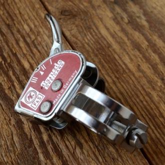 Schalthebel F&S 3-Gang (ähnlich Abb.)  rot, gebraucht, je nach Tagesbestand 70-80er Jahre, funktionstüchtig.