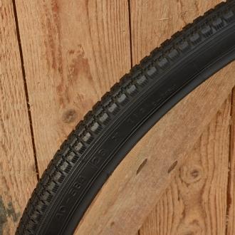 Fahrrad Reifen, 26 x  1 1/2 (40-584), schwarz, klassische Ausführung