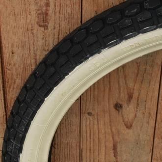"Moped Reifen Weißwand 23 x 2.50 (2 1/2 - 19) Continental ""KKS10 WW"""