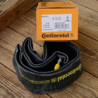 """Moped - Schlauch """"CONTINENTAL"""", 16 - 2,00 / 2,25 / 2,50 (20 x 2 / 2 1/4 / 2 1/2), Autoventil (AV)"""