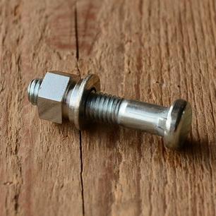 Sattelklemmbolzen mit Fassonmutter, glanzverzinkt M8 x 40mm