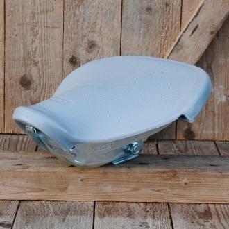 Denfeld Moped Schwingsattel, grau, stabil und sehr komfortabel, aufwändig gefertigt