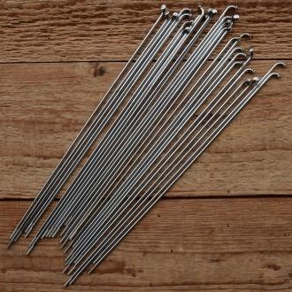 Speiche ED 2.34 x 2mm, Stahl verchromt, endverstärkt, ohne Nippel, Länge: 209 mm