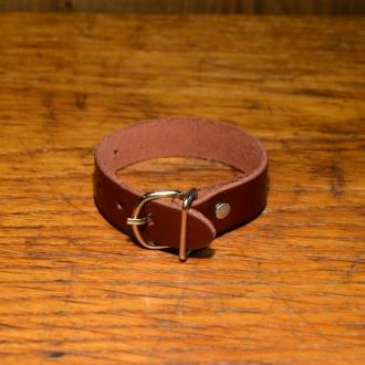 Lederriemchen 13 cm, rotbraun, zur Werkzeugtaschen Montage