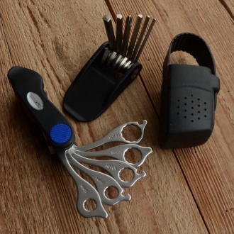 """Multi Tool """"Monza"""", CR-V, mit Gummitasche"""